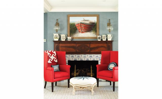 Anthony Baratta Thomasville red wing chairs