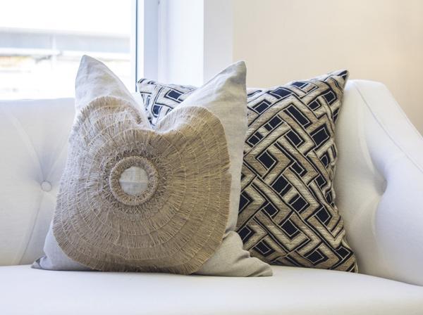 Bandhini handmade pillows