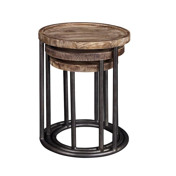 Broyhill 1st & Main 6th Street nesting tables