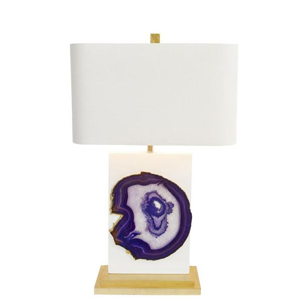 Couture Lamps agate lamp