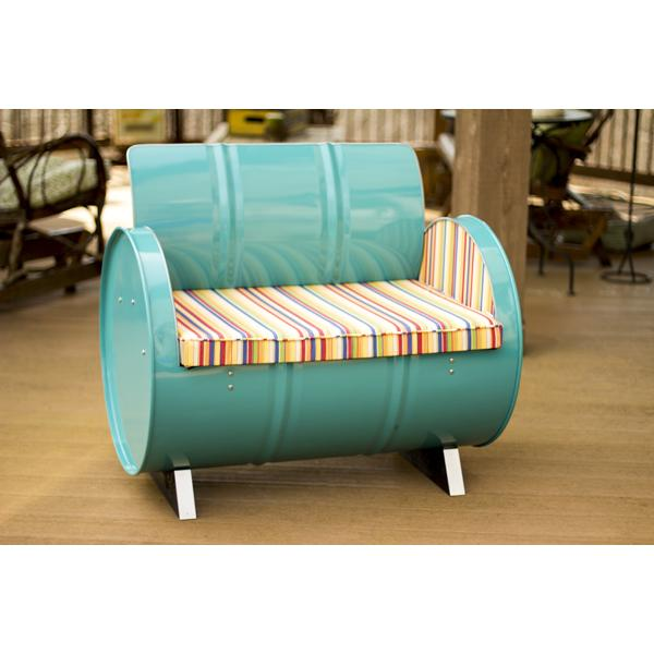 Drum Works Recycled Drum Chair