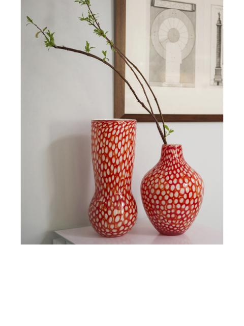 Dynasty Gallery orange vases