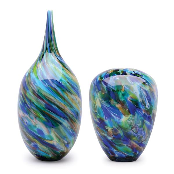 Dynasty Gallery glass vases