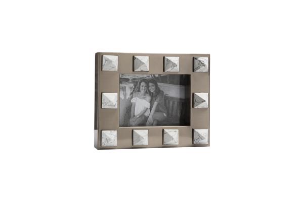 Emporium Home Harper Howlite picture frame