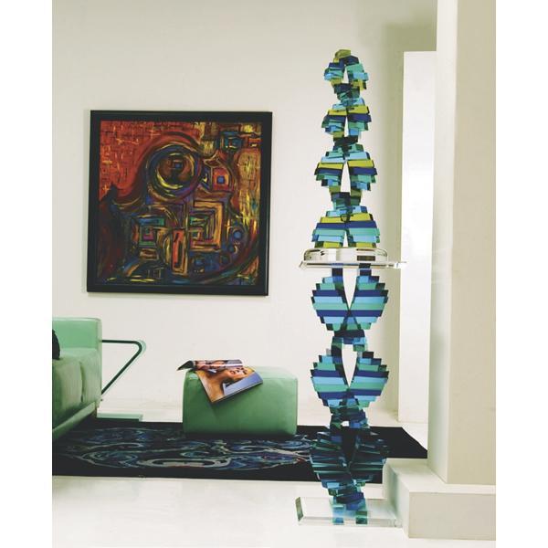 HStudio double helix sculpture