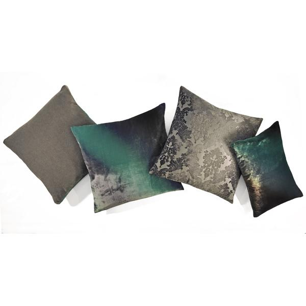 Kevin O'Brien Studio velvet pillows