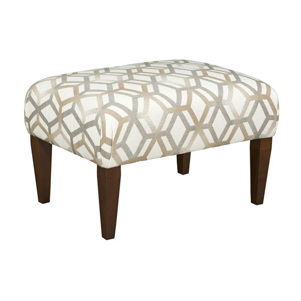 Kincaid small cocktail ottoman