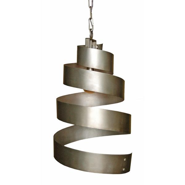 Laura Lee Designs Spiral chandelier