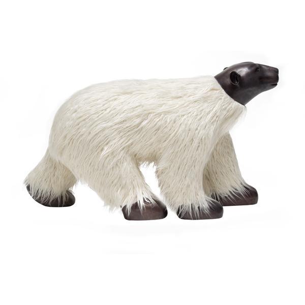 Maitland Smith Polar Bear bench