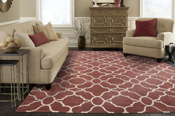 Pantone Marsala rug Oriental Weavers
