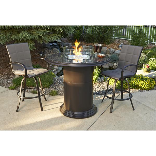 Outdoor Great Room Fire Pit Table