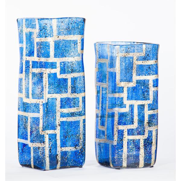 Prima Design Source blue vases