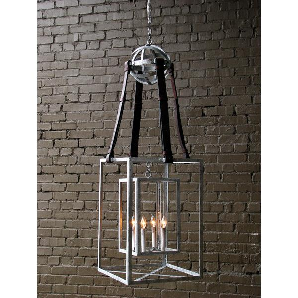 Solaria Lighting Dos Cubos lantern