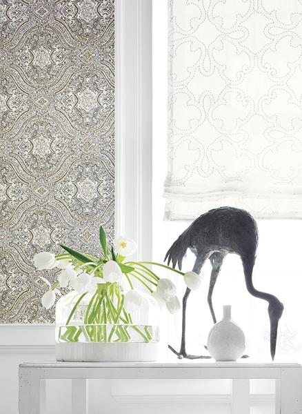 Thibaut Tulsi block print wallpaper