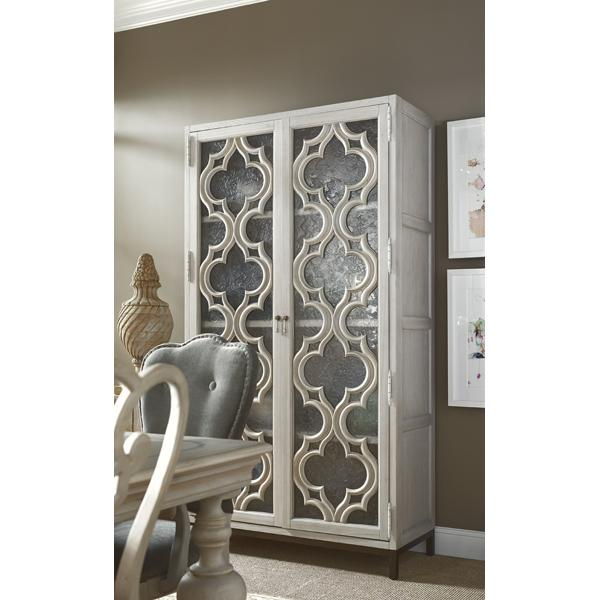 Universal Elan quatrefoil storage cabinet