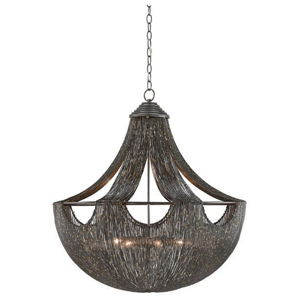 Currey & Company Eduardo chandelier