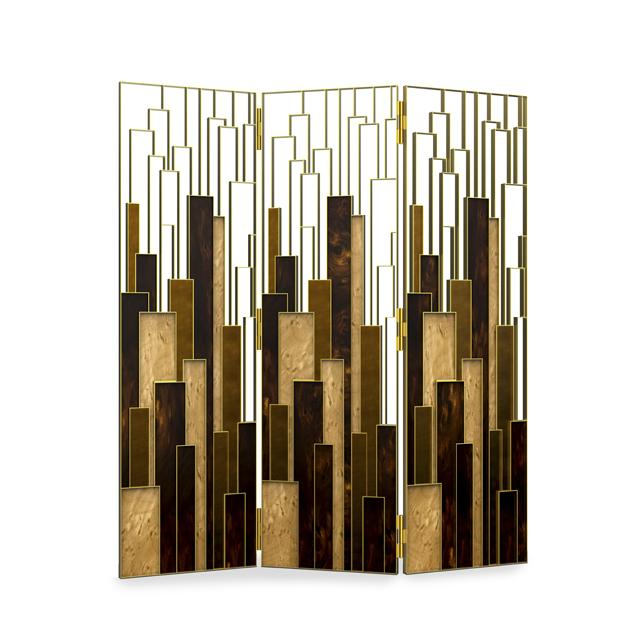 Brabbu Delphi contemporary folding screen